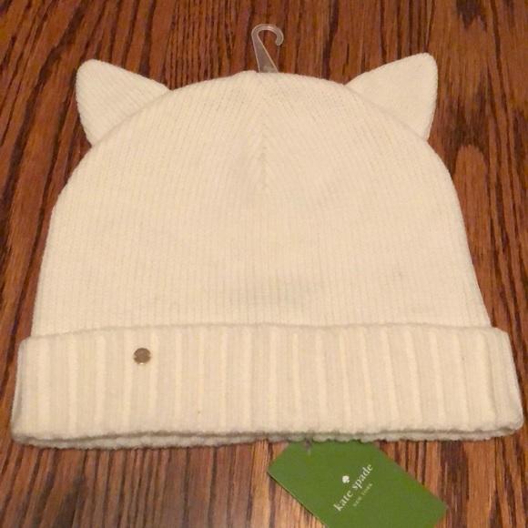 Kate Spade cat ear hat